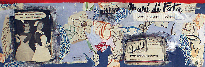 kombinirana tehnika / mixed media, 50x20 cm, 2010.