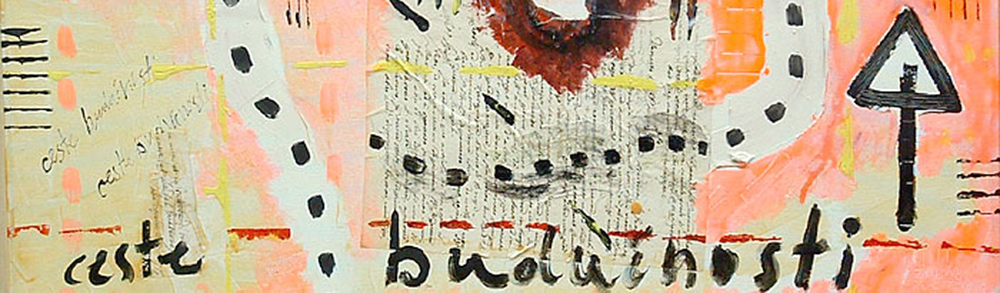 kombinirana tehnika/mixed media, 80x20 cm, 2004.