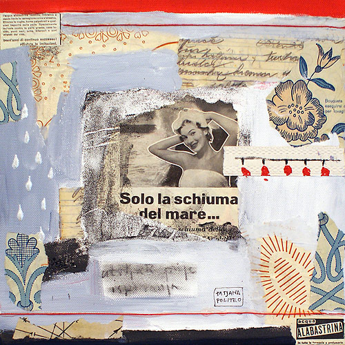 kombinirana tehnika / mixed media, 30x30 cm, 2010.