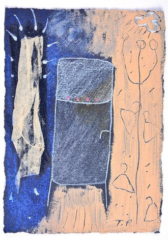kombinirana tehnika / mixed media, 13 x 18 cm, 2005.