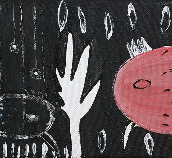 kombinirana tehnika / mixed media, 18x13 cm, 2006.