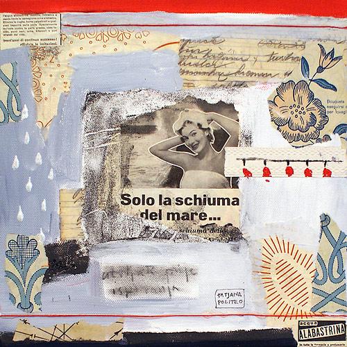 kombinirana tehnika / mixed media, 30x30 cm, 2010.