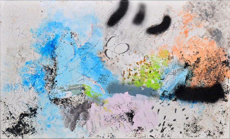 kombinirana tehnika/mixed media, 50 x 30 cm, 2013.